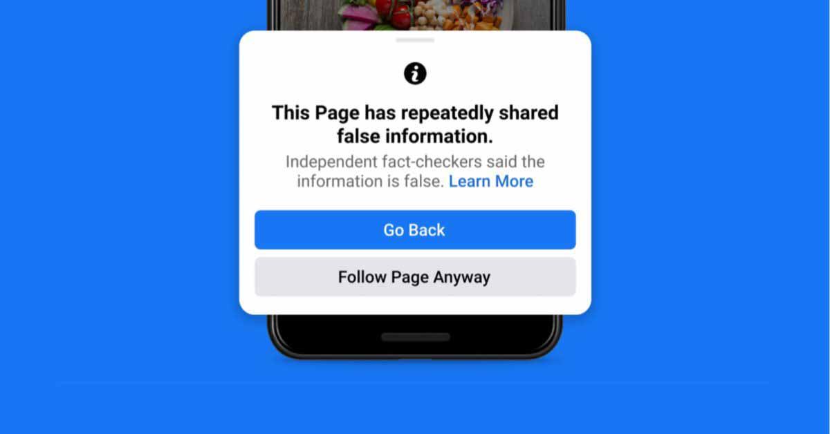 Facebook объявляет о новых инструментах для борьбы с дезинформацией в приложении iOS