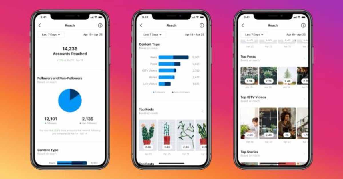 Instagram для iOS теперь показывает живые видео и статистику по барабанам