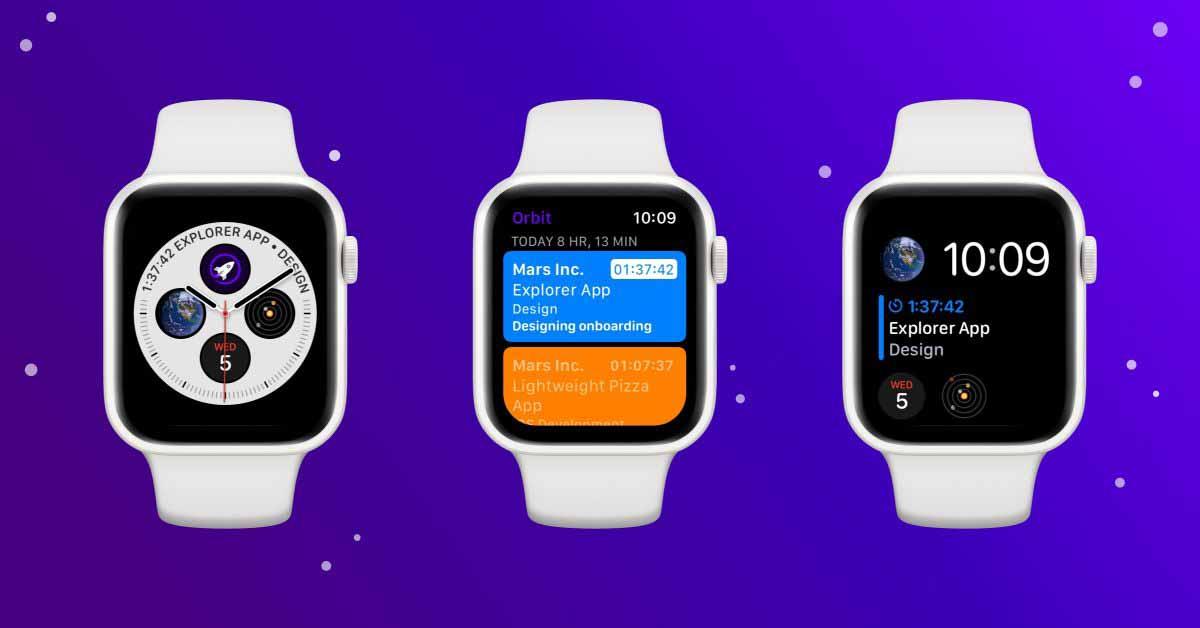 Приложение для умных счетов Orbit обновлено до версии для Apple Watch