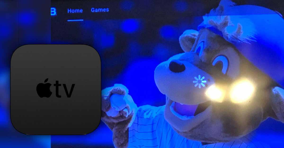 Приложение MLB не работает на Apple TV?  Это не только ты