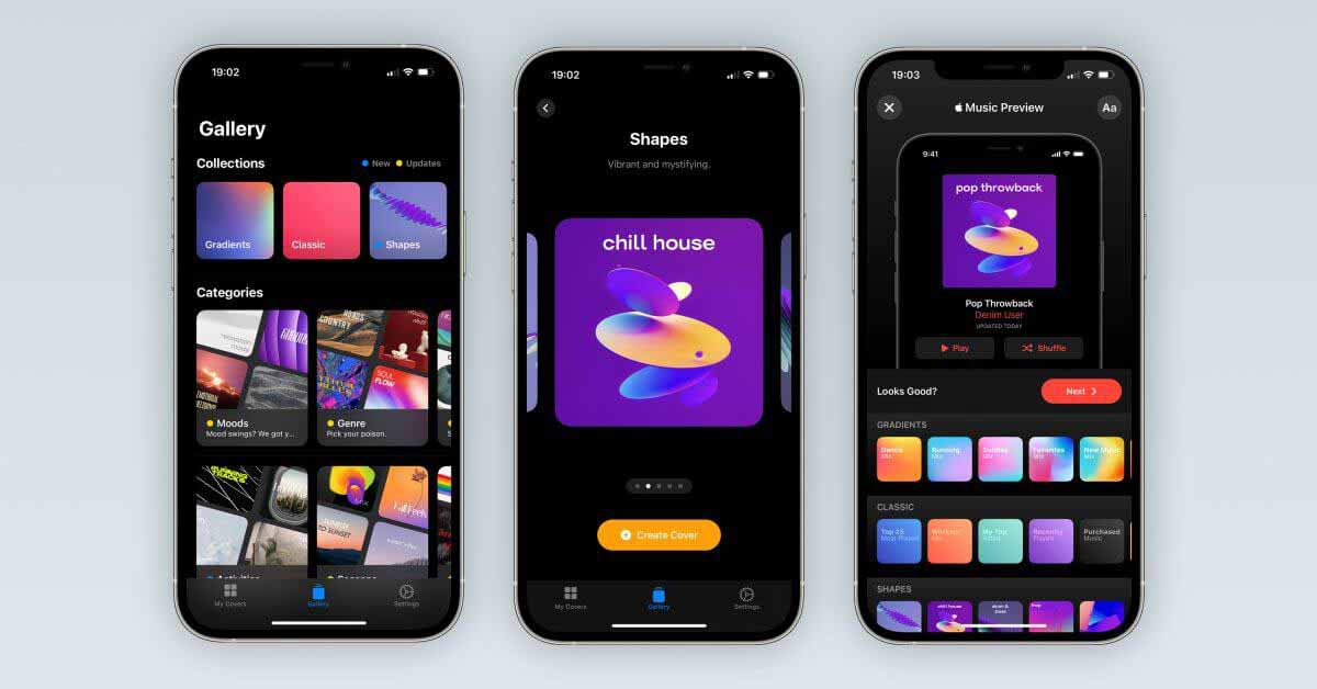 Создатель обложек плейлистов «Джинсовая ткань» получил серьезное обновление с интеграцией с музыкальным приложением.