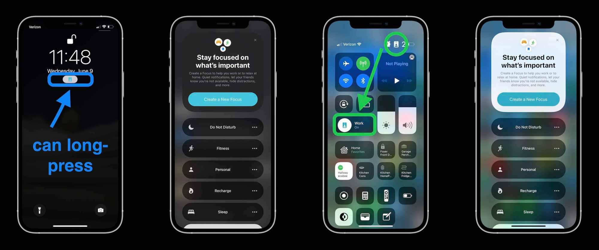 Как использовать iPhone Focus в iOS 15 - где узнать, что включено