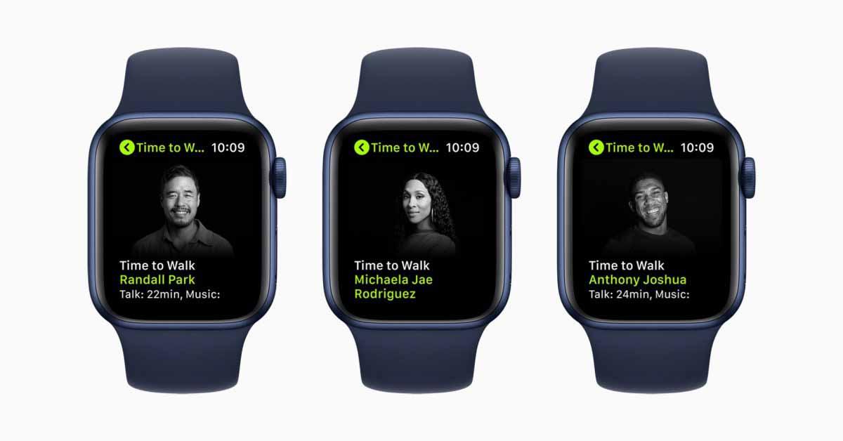 Apple Fitness + объявляет о новой серии тренировок Time to Walk, начинающейся 28 июня