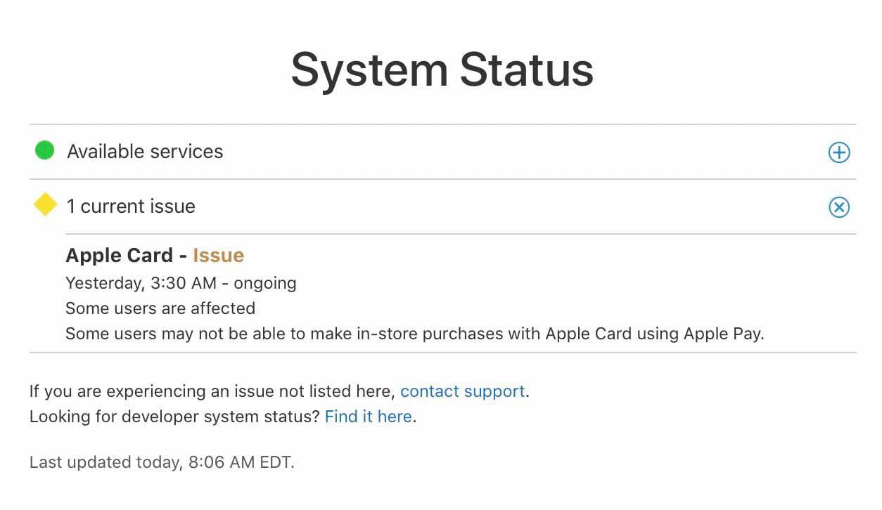 Отключение Apple Card