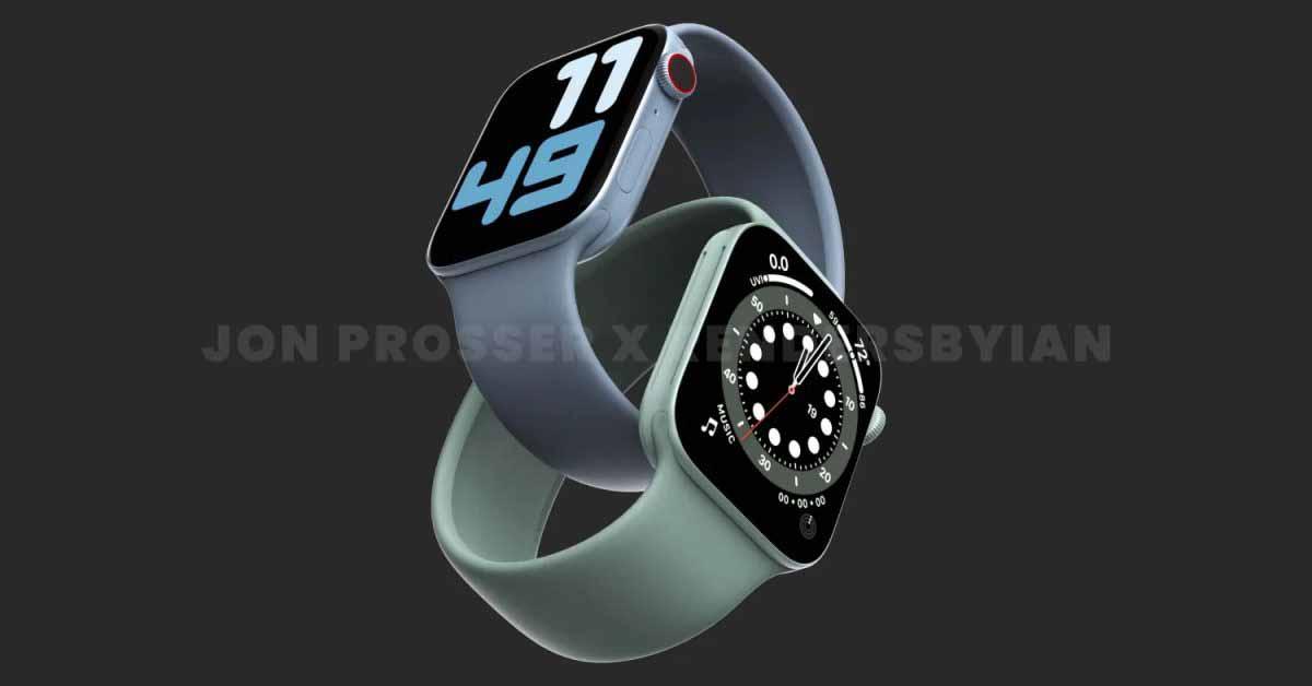Bloomberg: Apple Watch Series 7 будут иметь более тонкие рамки вокруг экрана, сверхширокополосную связь и более быстрый процессор