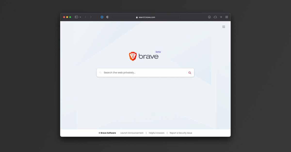 Brave Search теперь доступен в виде бета-версии с функциями защиты от отслеживания