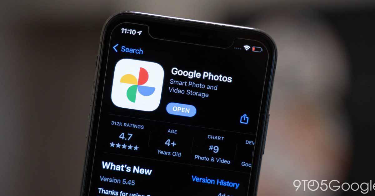 Google Фото обеспечивает расширенное редактирование на устройствах iOS