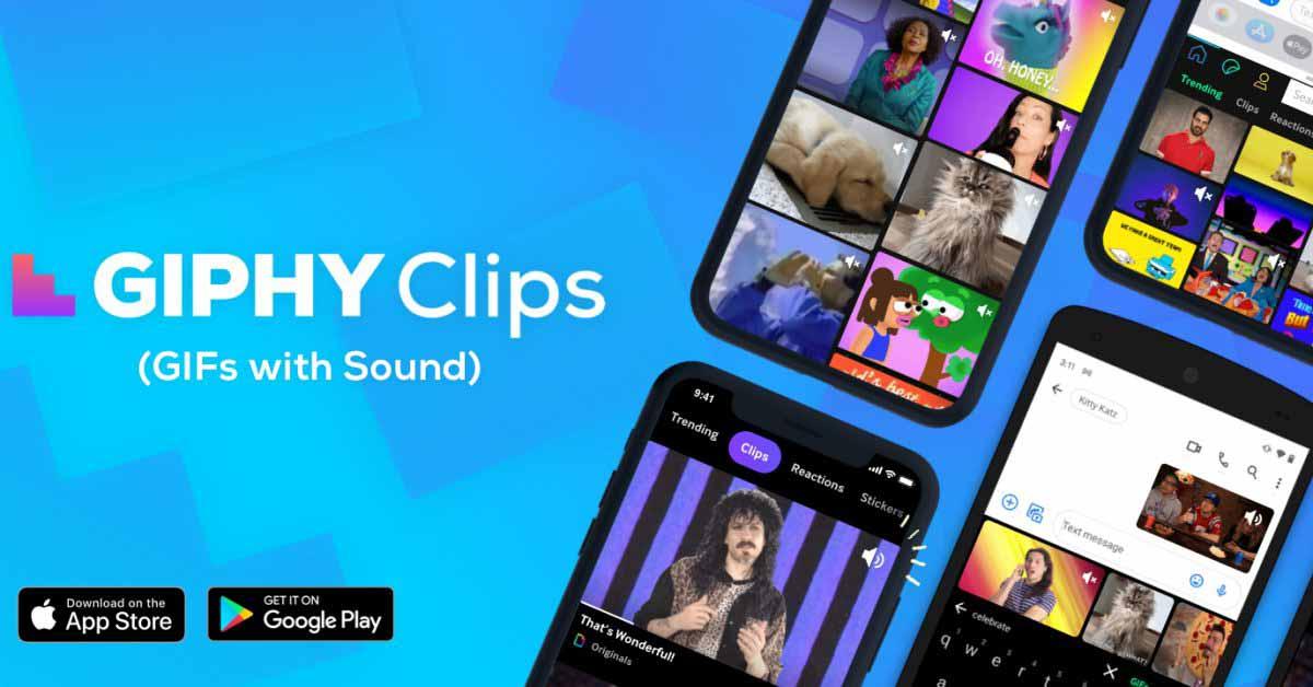 iMessage интегрируется с GIF-файлами Giphy 'Clips' со звуком