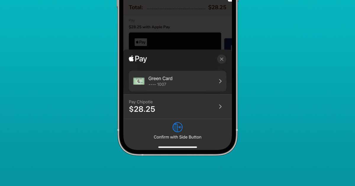iOS 15: Apple Card «Расширенная защита от мошенничества», редизайн Apple Pay с поддержкой кода купона
