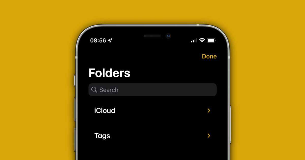 iOS 15: все новое в приложении Notes