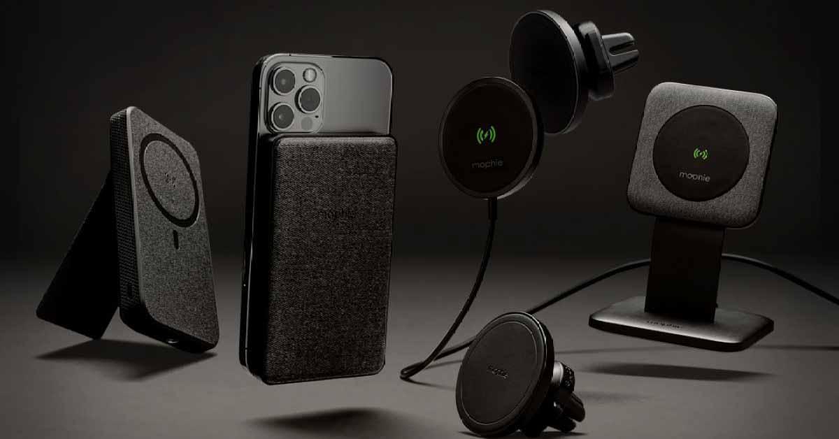 Новая линейка аксессуаров Mophie Snap обеспечивает совместимость MagSafe со всеми iPhone