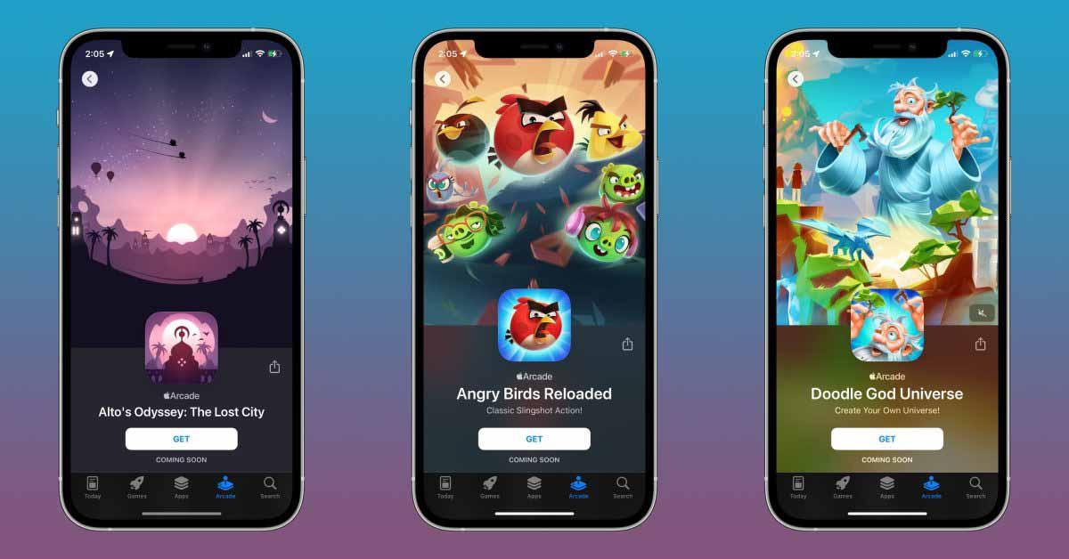 Одиссея Альта: Затерянный город, Angry Birds Reloaded и многое другое скоро появится в Apple Arcade