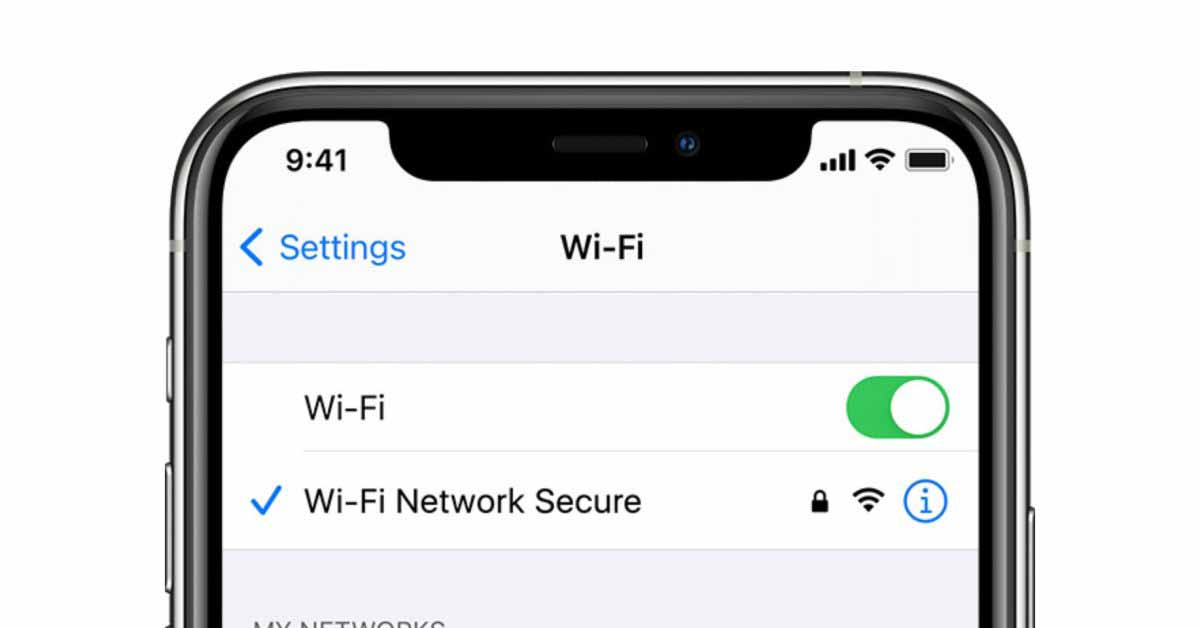 Определенное имя сети может полностью отключить Wi-Fi на вашем iPhone.