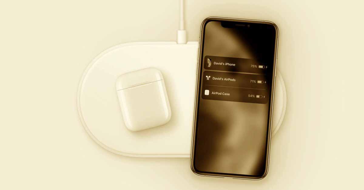 Отчет: Apple работает над ковриком для индуктивной зарядки для нескольких устройств, исследуя действительно беспроводные методы зарядки