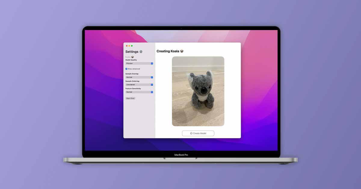 PhotoCatch позволяет легко создавать 3D-модели с помощью нового API захвата объектов Apple.