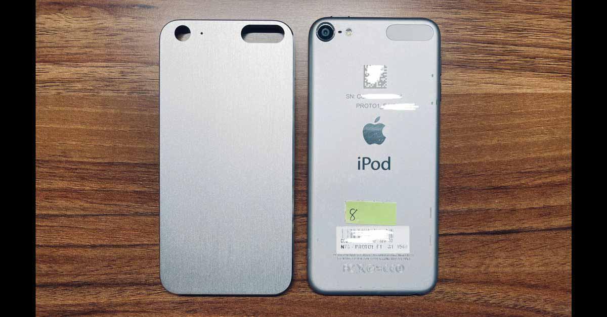 Прототип iPod touch выглядит лучше, чем настоящий