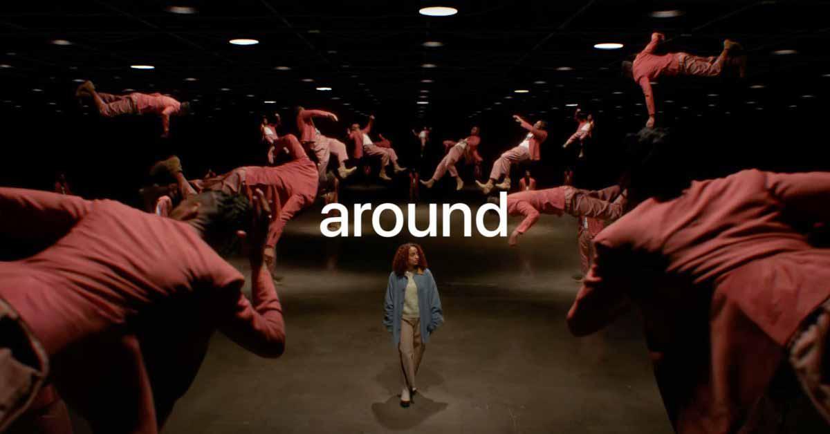 Реклама Spatial Audio на канале Apple Music на YouTube