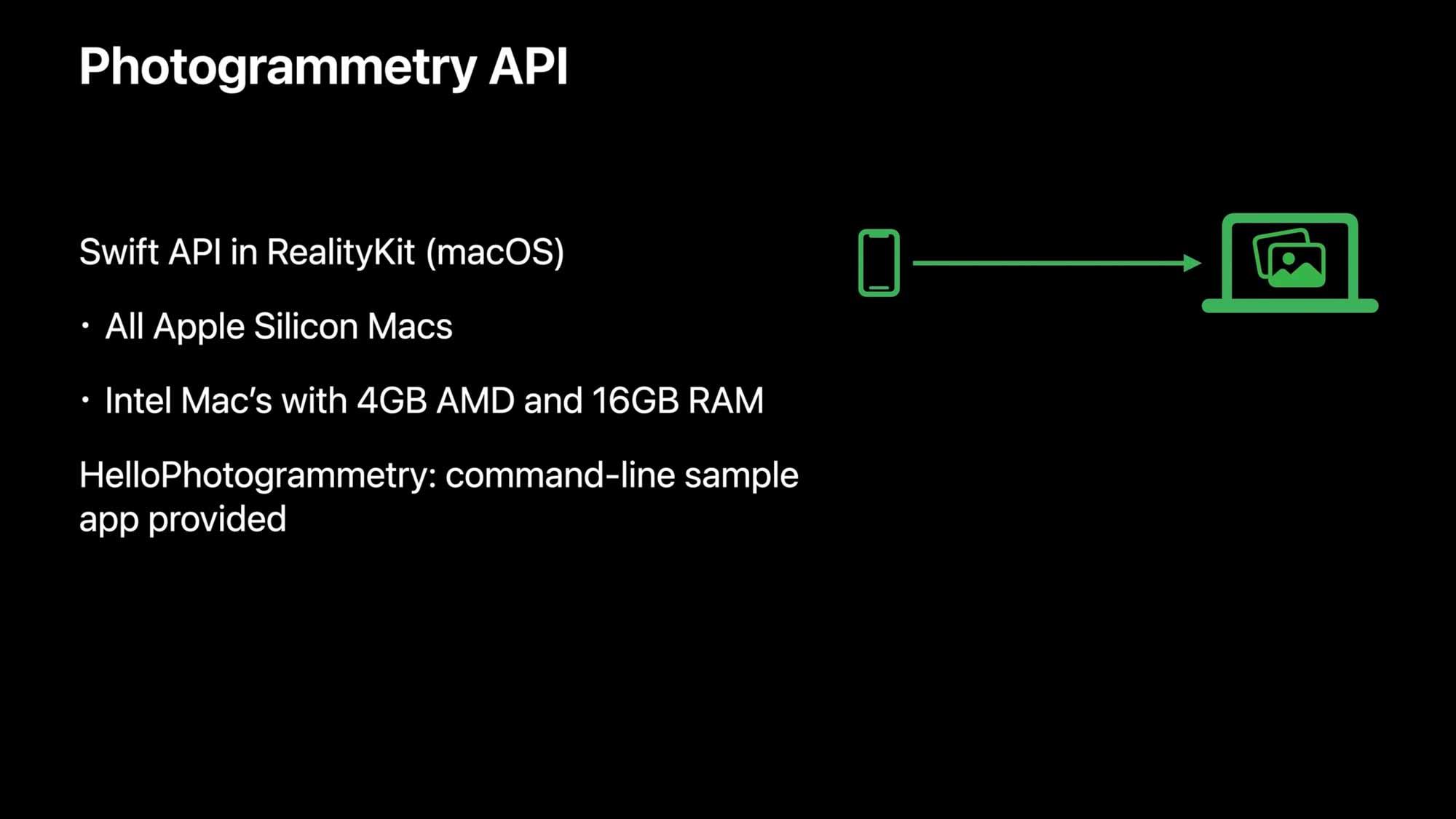 API захвата объектов Apple.