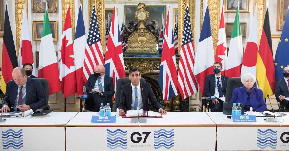 В результате налоговой сделки G7 Apple будет платить более высокие налоги в Европе