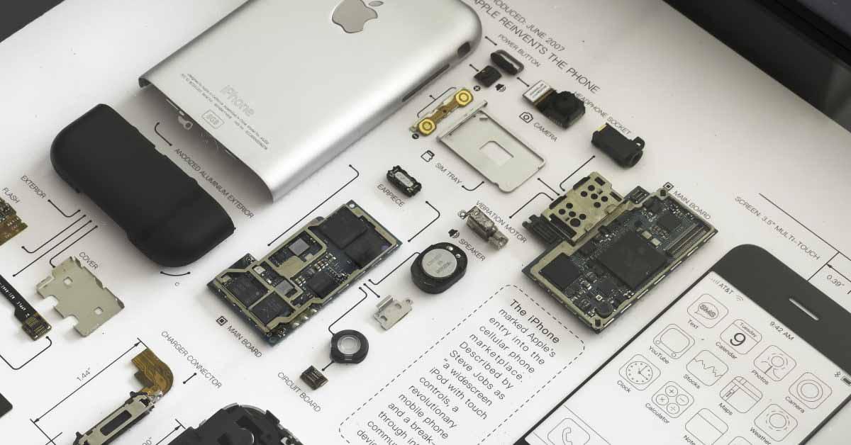 Взгляд назад на эволюцию оборудования iPhone с рамками GRID [Gallery]