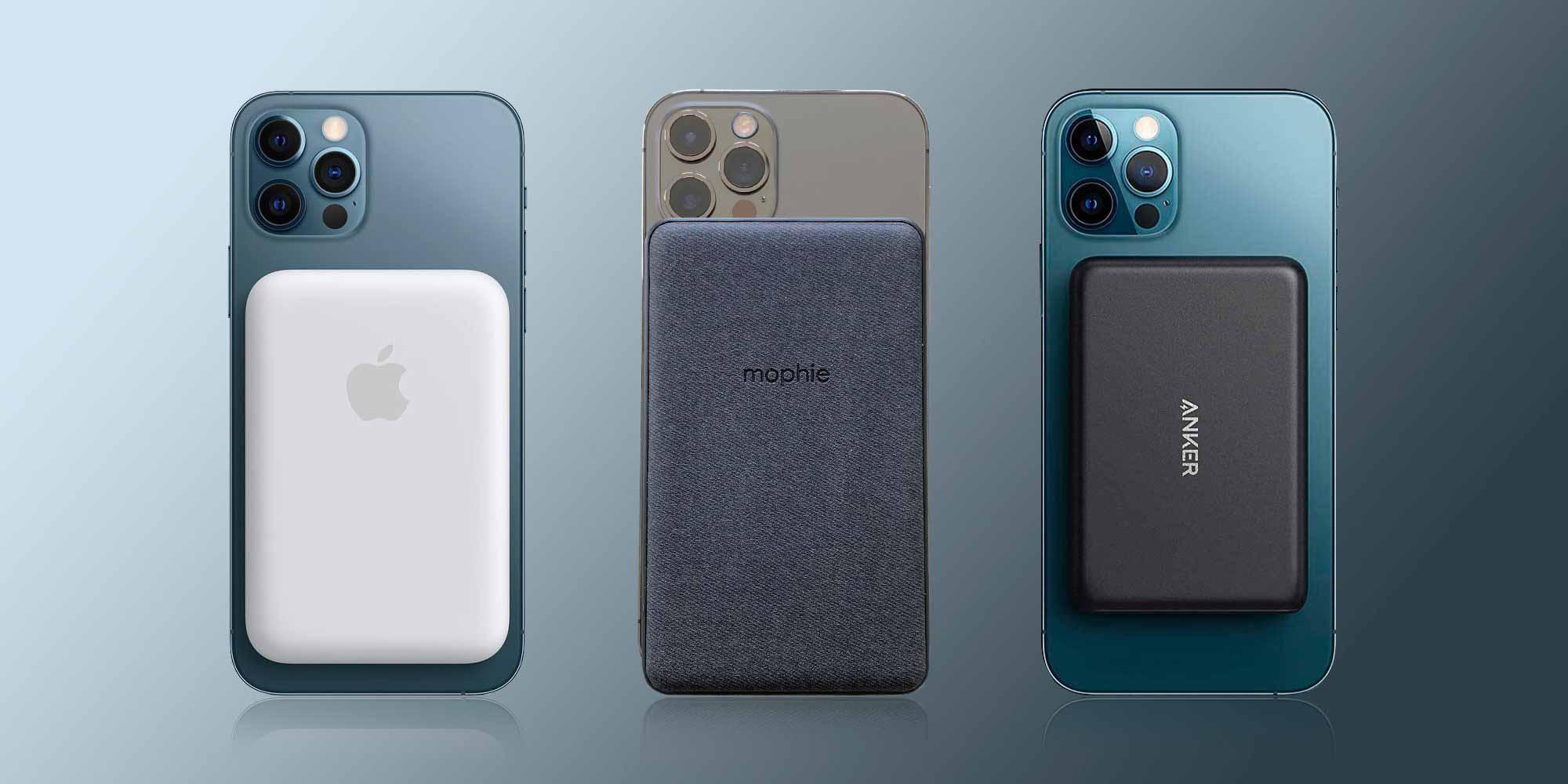 Аккумулятор Apple MagSafe против Mophie и Anker