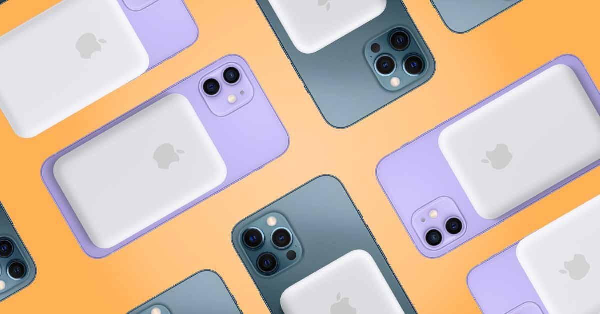 Аккумулятор MagSafe предполагает, что iPhone 12 поддерживает обратную беспроводную зарядку