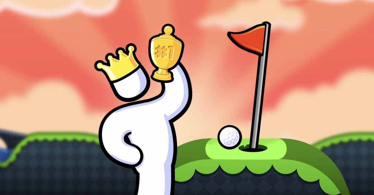 iOS-хит Super Stickman Golf 3 скоро появится в Apple Arcade вместе с Super Leap Day