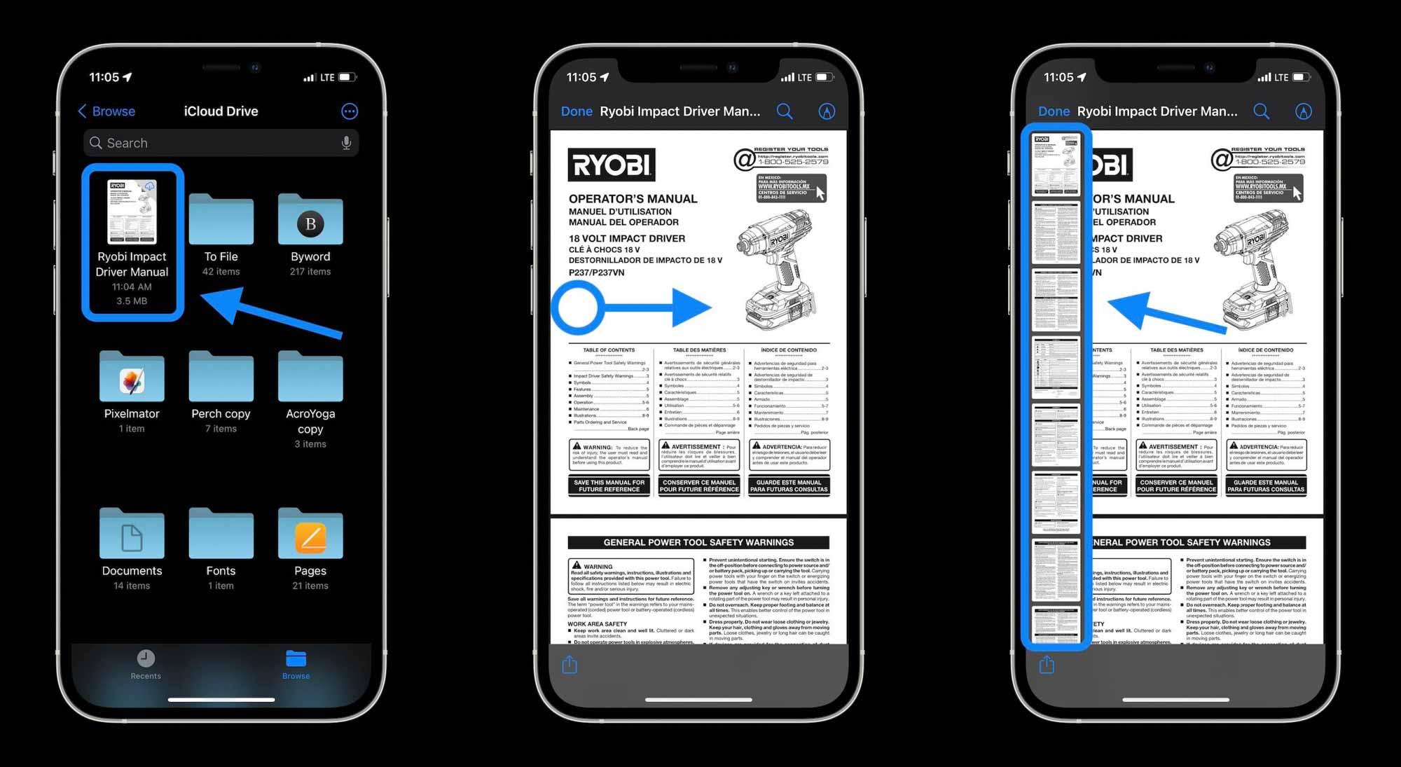 Как редактировать PDF-файлы на iPhone и iPad в iOS 15 - прохождение 1