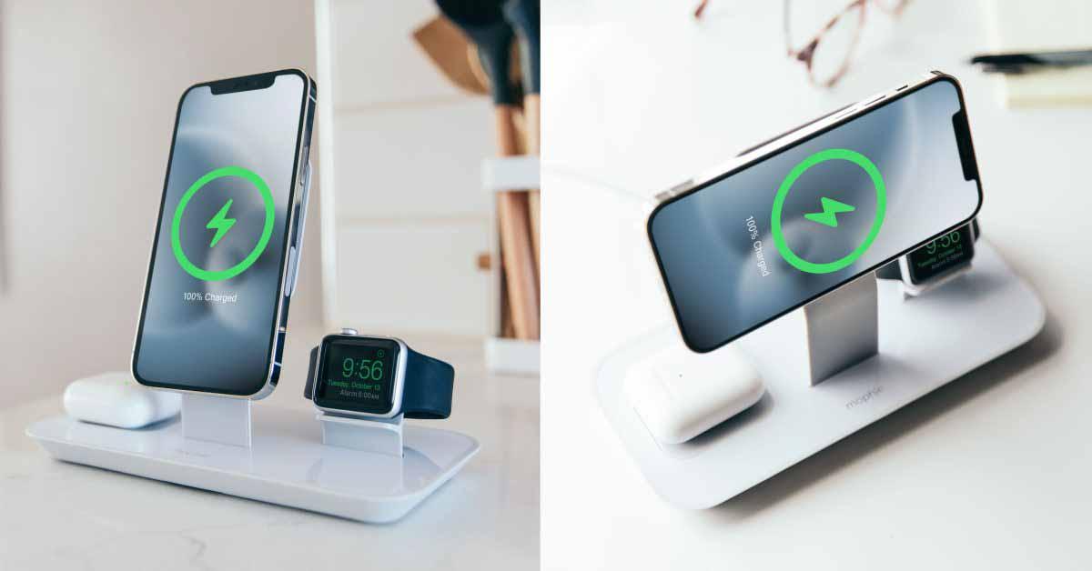 Mophie представляет новое зарядное устройство MagSafe 3-в-1 для iPhone, AirPods и Apple Watch