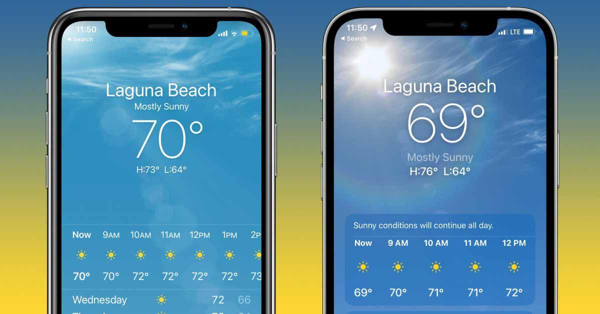 Некоторые версии iOS загадочным образом отказываются показывать 69 в качестве температуры в приложении iPhone Weather. [U]