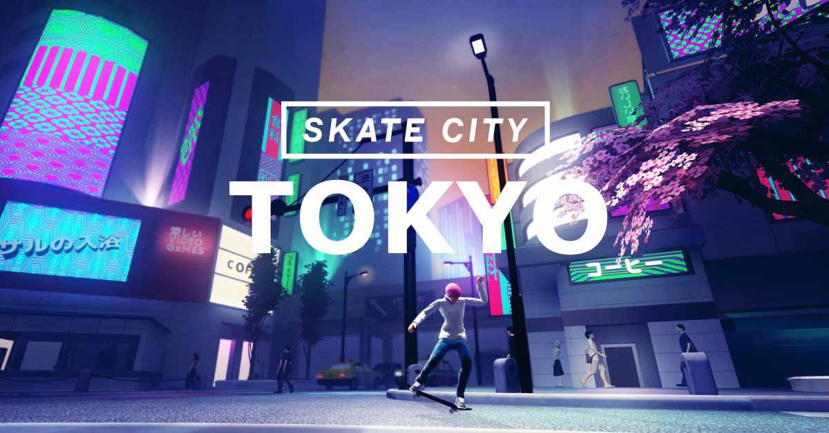 Skate City от Apple Arcade добавляет расширение Токио в честь Олимпиады