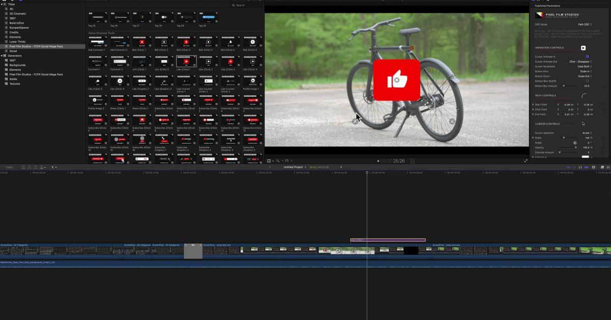 Социальный мегапакет FCP для Final Cut Pro [Video]- 9to5Mac