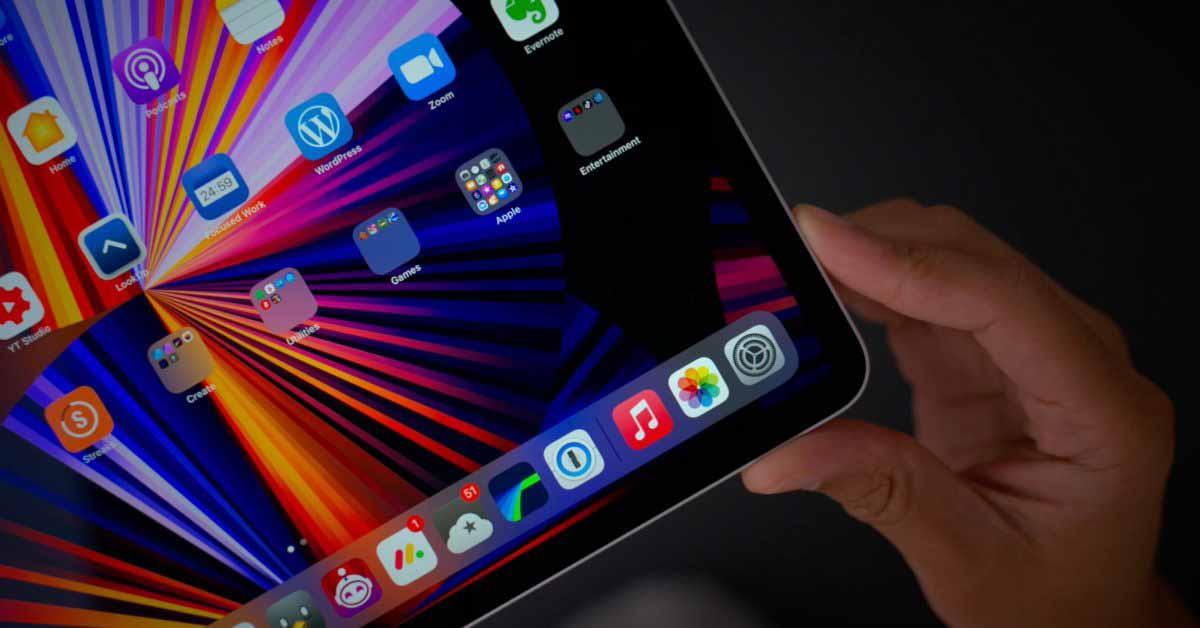 В iPad Pro 2022 года будут установлены мини-светодиодные дисплеи обоих размеров