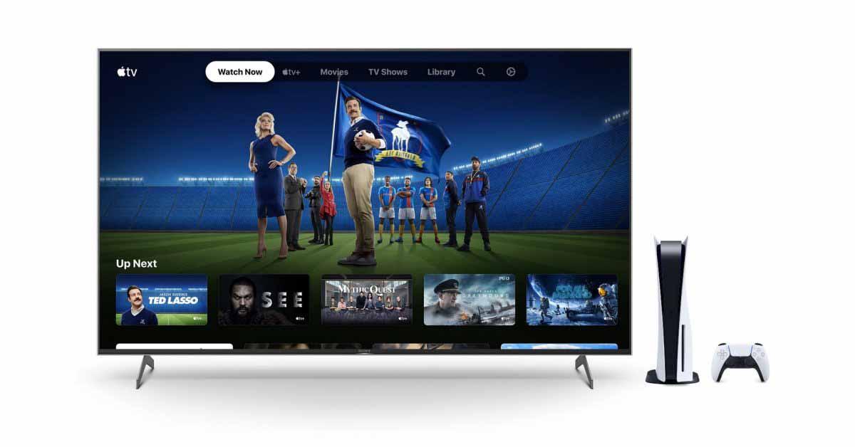 Владельцы PlayStation 5 могут получить шесть месяцев бесплатного использования Apple TV +