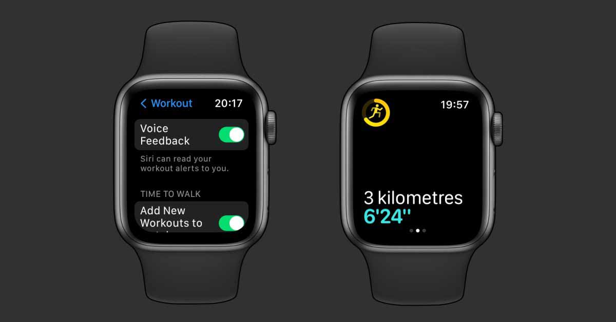 watchOS 8: Siri на Apple Watch может сообщать о вашем прогрессе во время тренировки